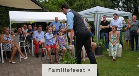 goochelaar huren familiefeest